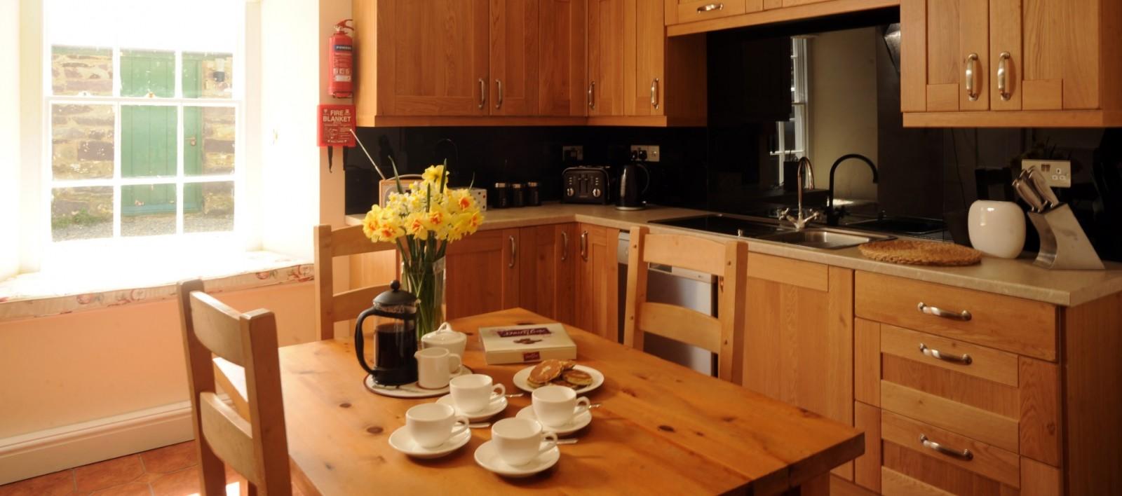 Holiday Cottage Pembrokeshire Big Kitchen