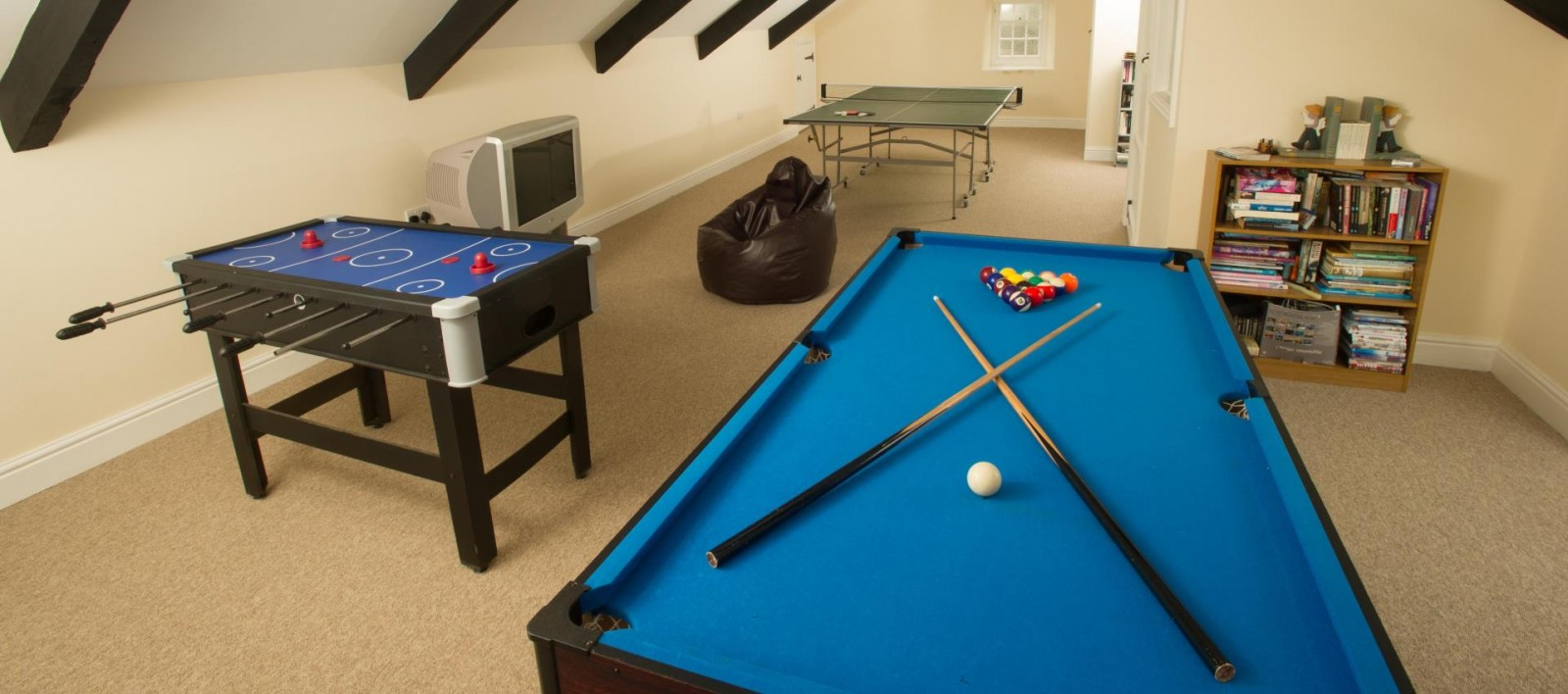 Games Room Holiday Home St Davids
